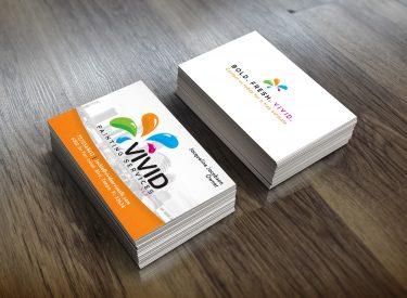 Vivid Services Card Mock